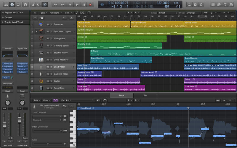 Logic Pro Music Production