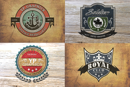 Design Vintage And Retro Logo