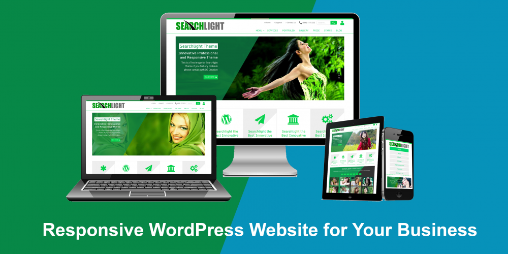 Design A Brilliant,  Responsive WordPress Website or Landing page