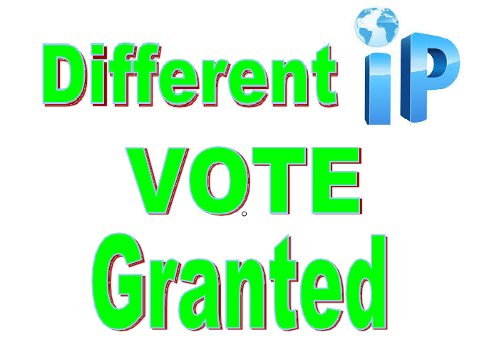 promote 150 genuine IP votes to your entry to any poll website contes