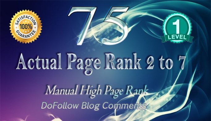 do 75 high pa da blog comments dofollow backlinks manually