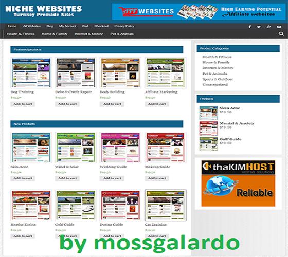 NICHE WEBSITE RESELLER - 100% Autopilot & Newbie Friendly - 25 Websites Included