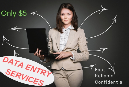Reliable Data Entry Services of Any Kind