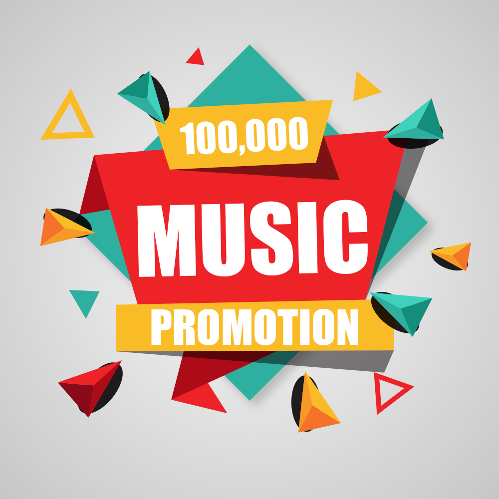 One Hundred Thousand Advertisement Real Music promotion