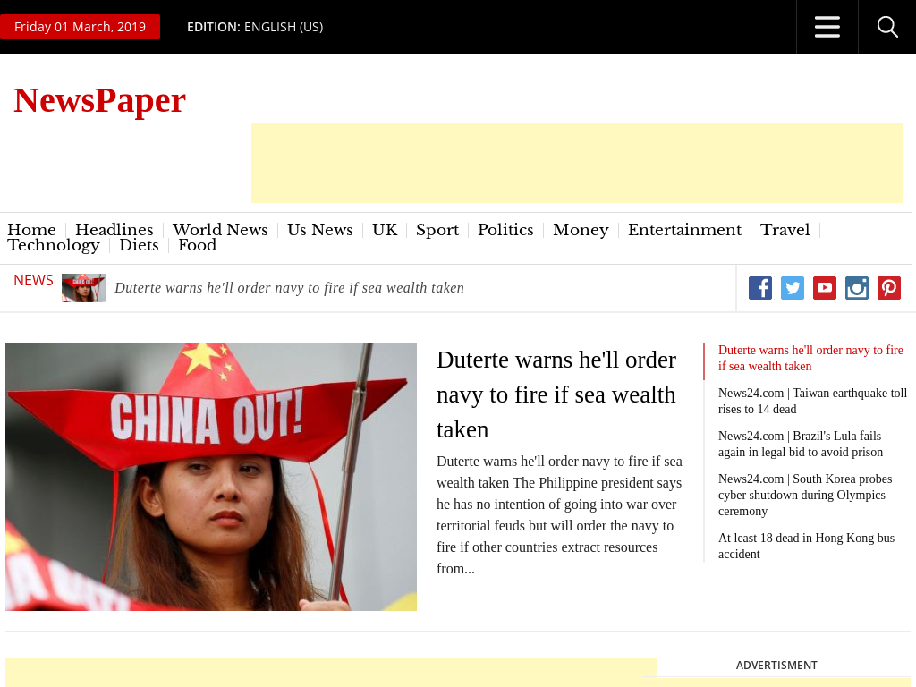 100 Automated NewsPaper Website AutoPilot
