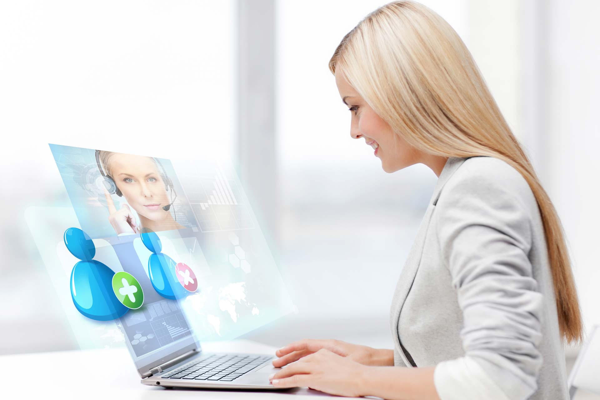 I am your virtual assistant in Spanish