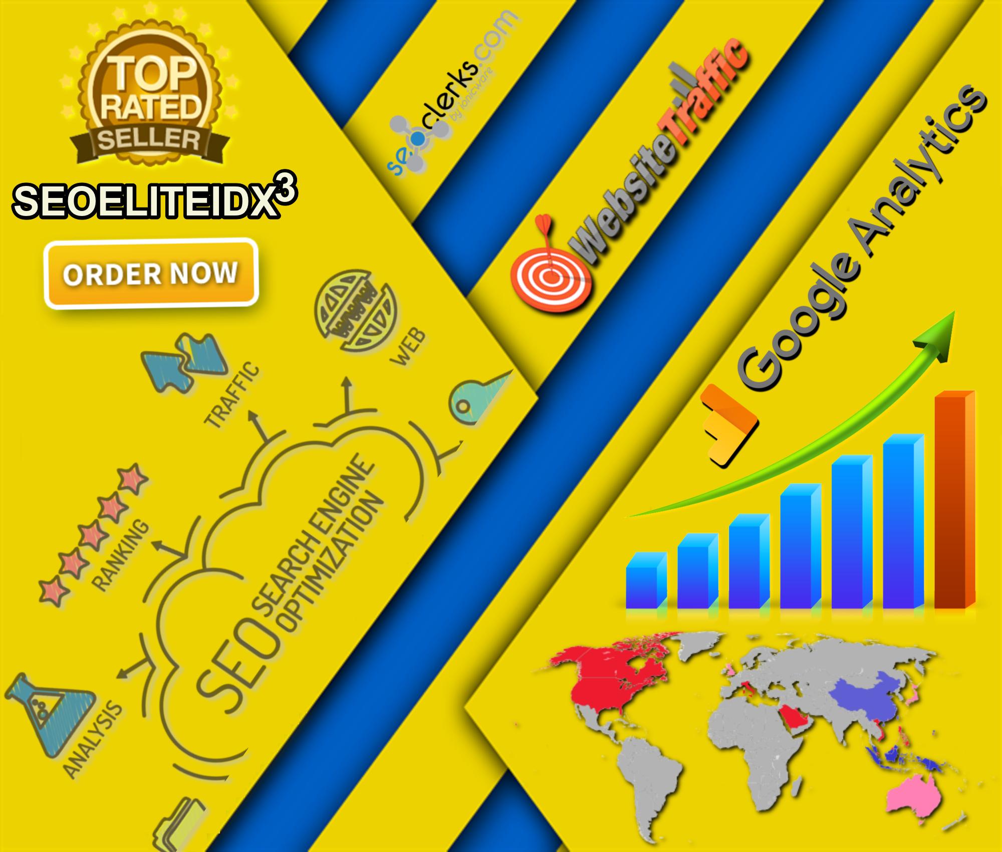Twenty Thousand 20,000 Worldwide USA Social Media Referral Source Google  Analytics Website Traffic for $20