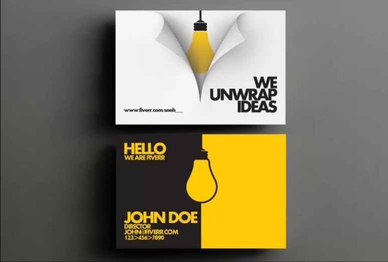 Design 2 Double Sided Business Card