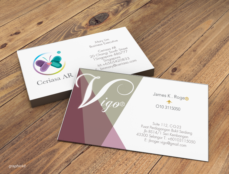 Professional Business Card Design Fast
