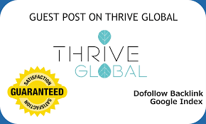 Publish A Article On Travel Niche Thriveglobal.com With Dofollow Backlink
