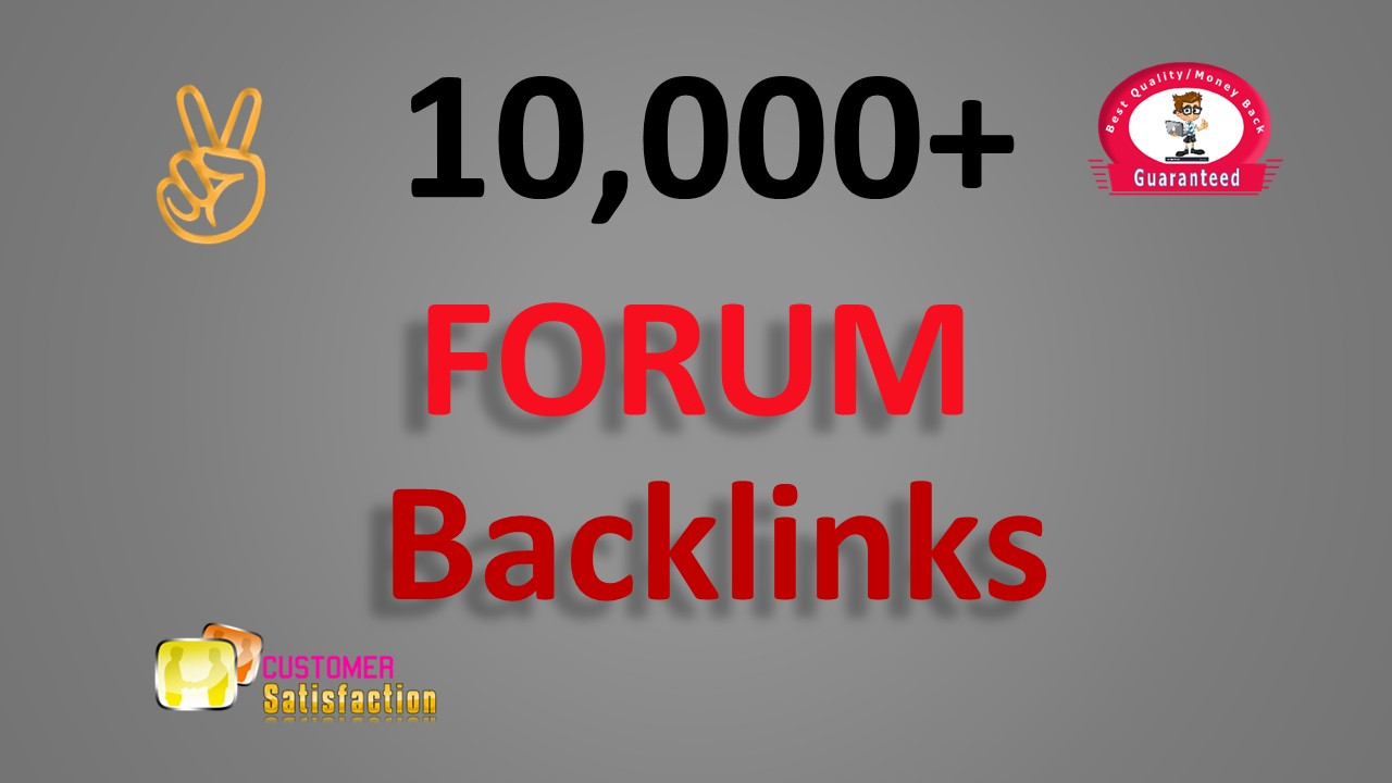 6,000 GSA SER Forum Backlinks for Google SEO