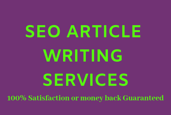 Do 1000 words SEO article writing, blog writing, content writing