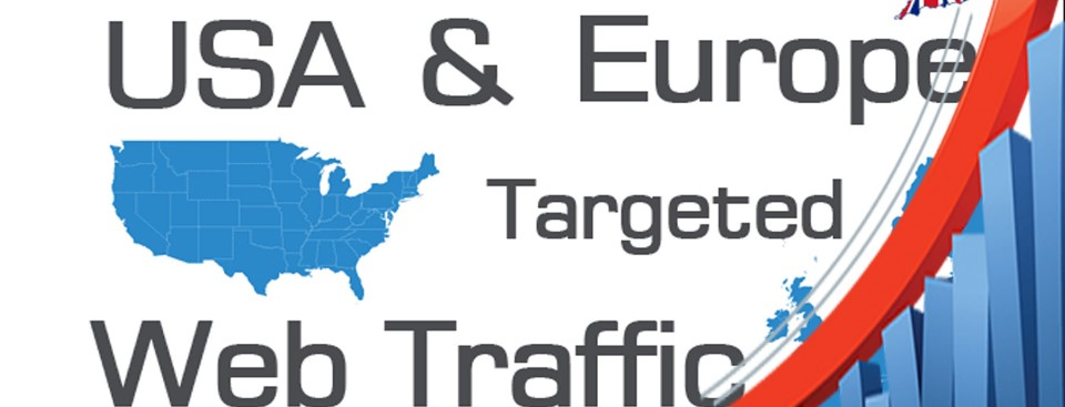 Acquire Targeted Web,  Traffic From U.S.A. & Europe for your website or blog for 25days
