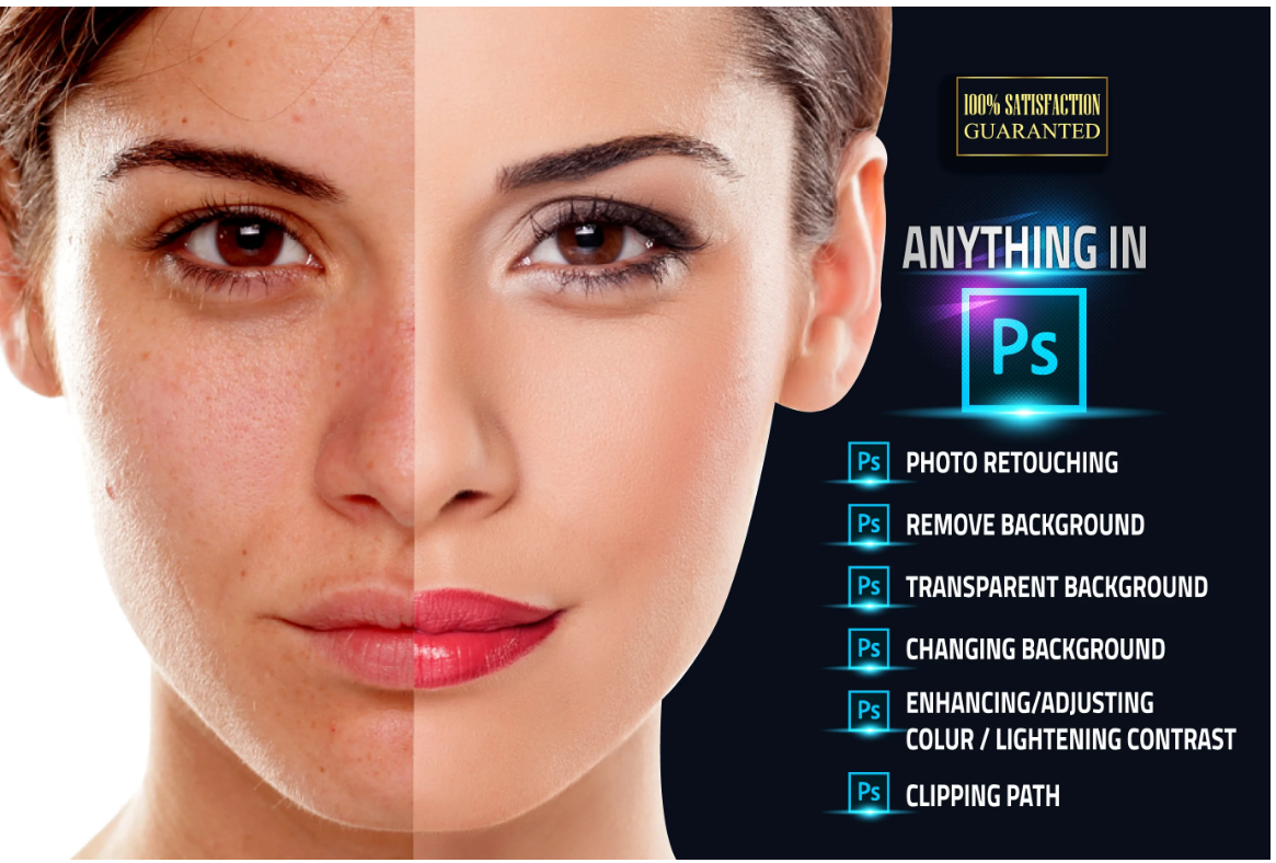 Any photo edit clipping path and retouch professionally