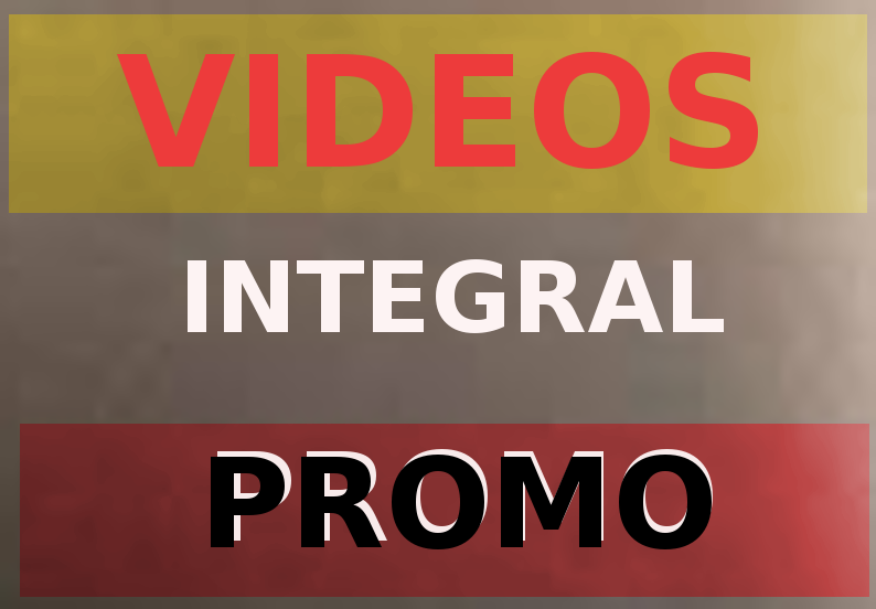 Promo for videos in integral way