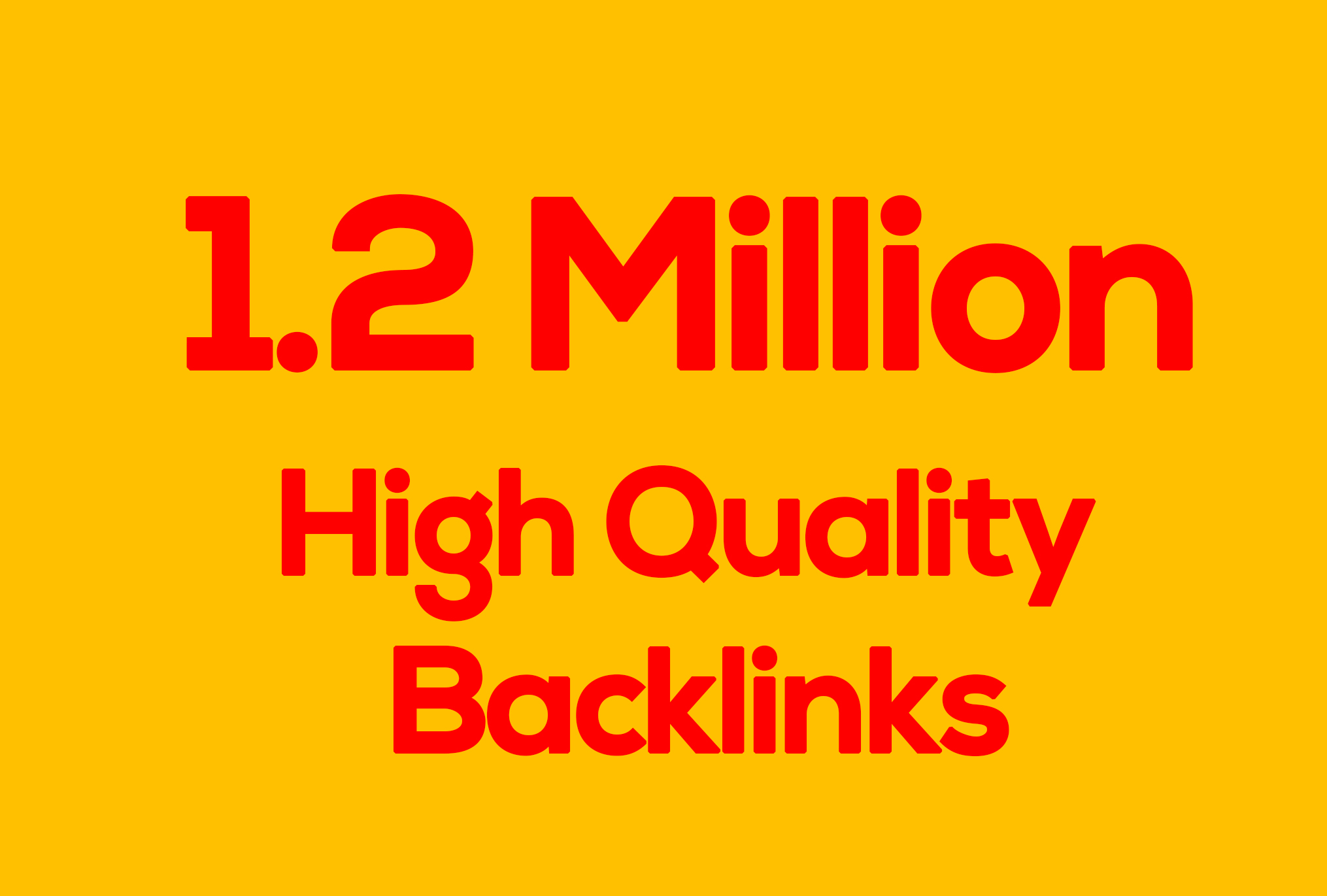 1.2 Million GSA SER Dofollow Backlinks