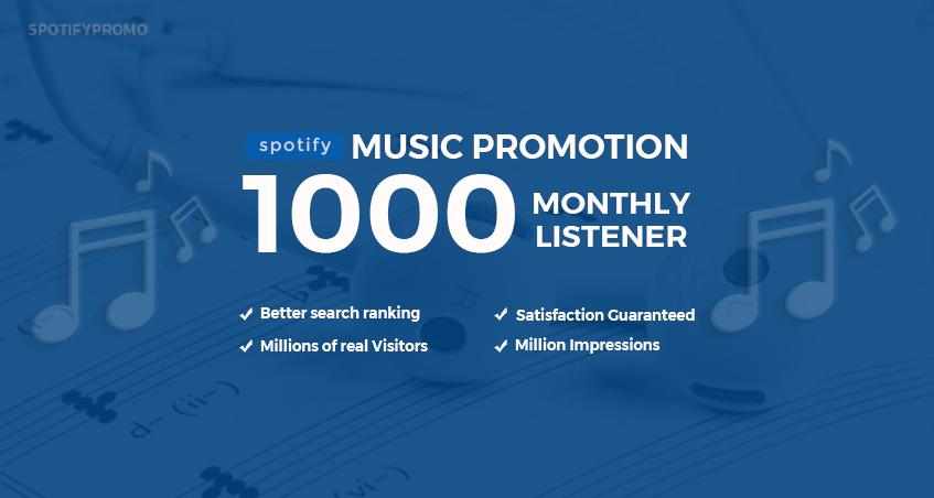 Do 1000 Playlist Track Listener to Boost Streams