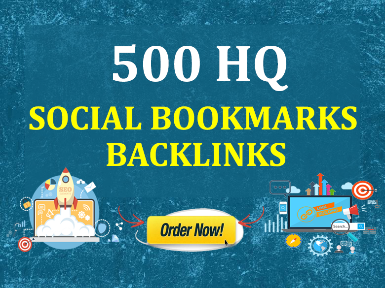 Promote Your Website,  YouTube Video,  Product Page,  Services to 500 HQ Social Bookmarking Sites