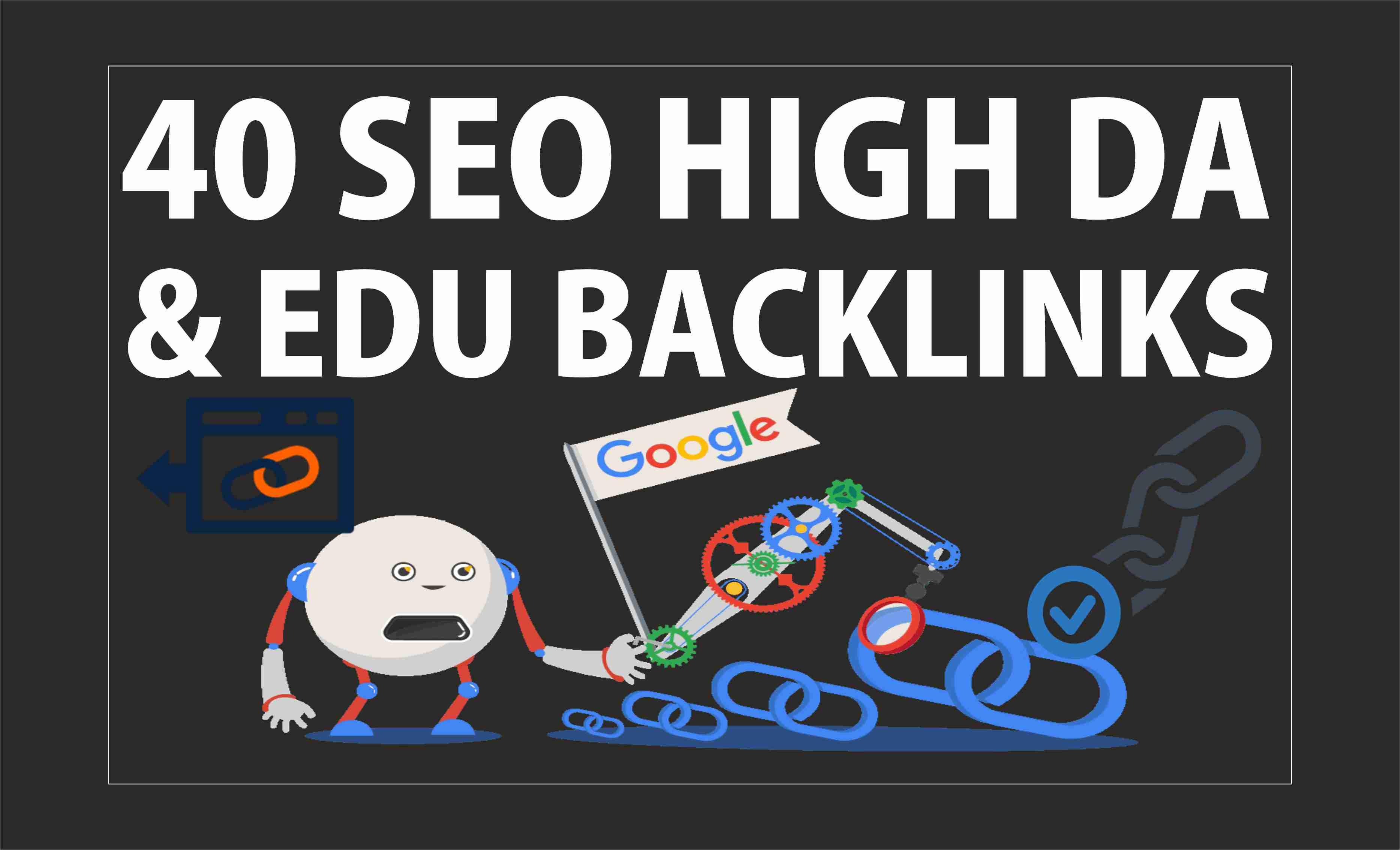 40 EDU Backlink on High Domain Aughority Sites