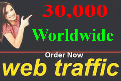 Super Fast 30,000 Worldwide Web Traffic To Your Web Site For Seo Ranking