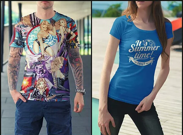 Provide Design Custom And Unique Tshirt With