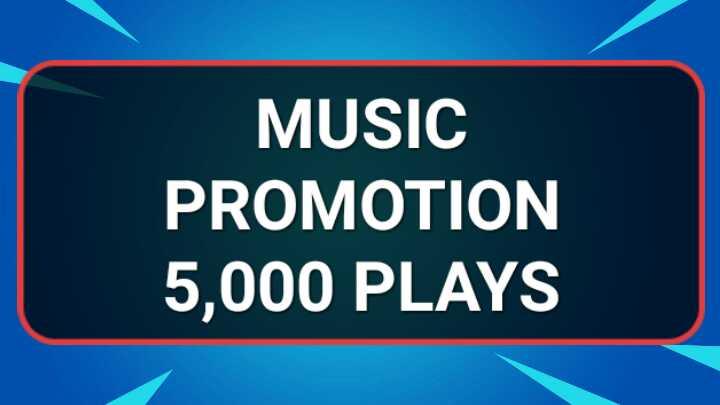 Music promotion 5,000 HQ Real Artist Playlist Unique Listeners