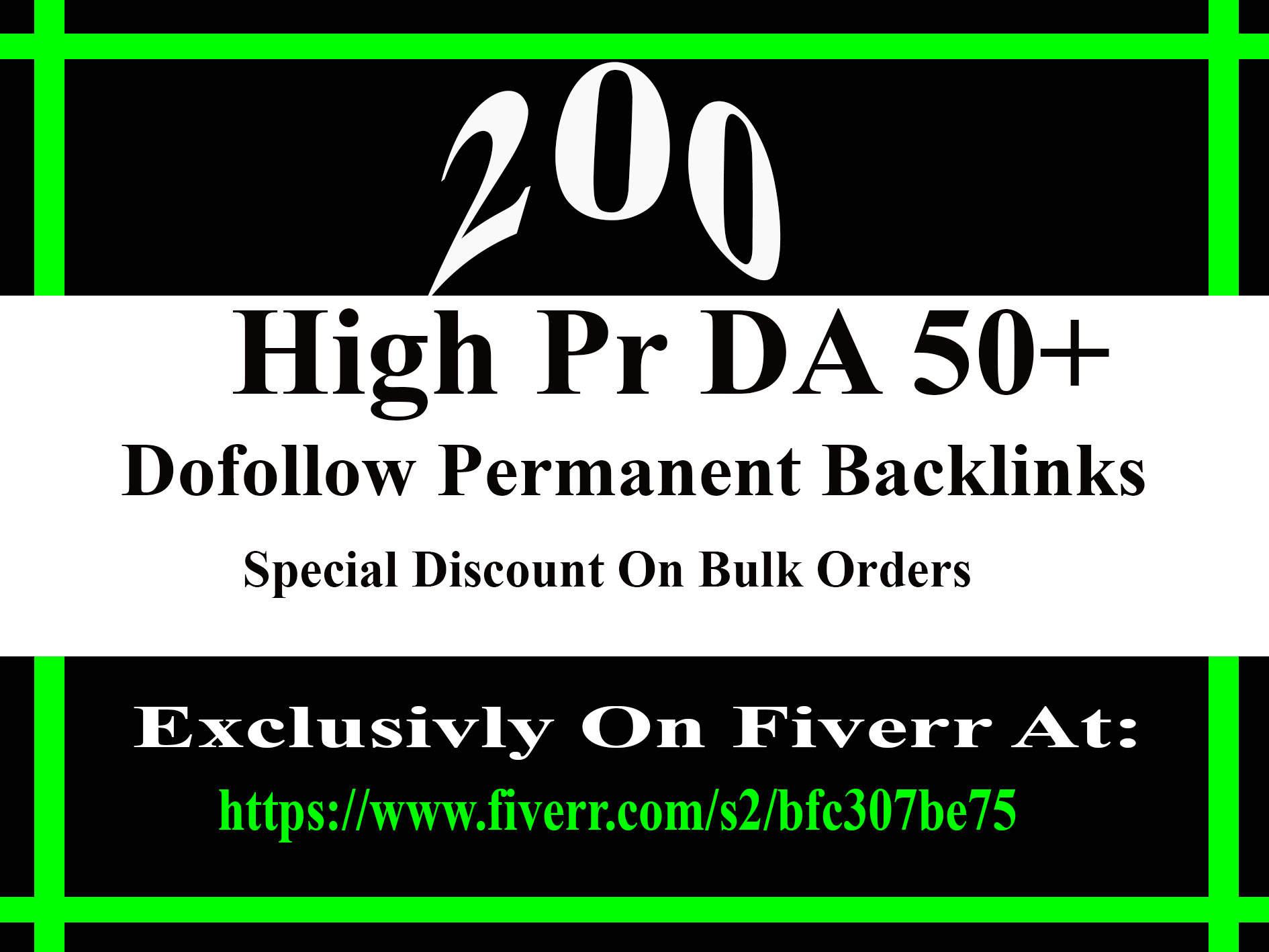Do 200 high PR Dofollow backlinks to improve your ranking