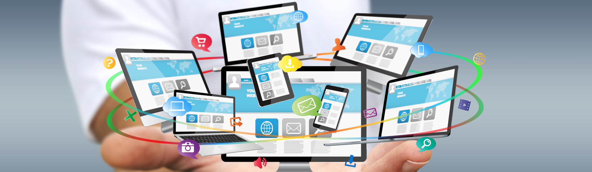 Responsive business website design within 2 days