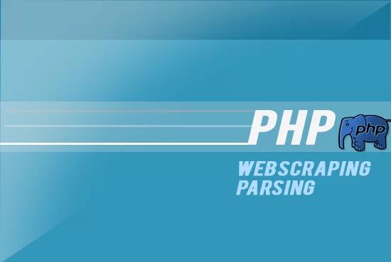 Create A Php Script To Parse Scrap A Web Page
