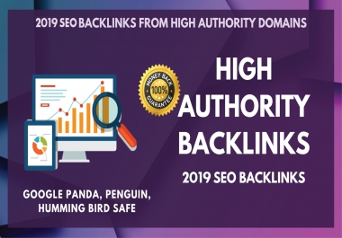 60 High Trust Flow Authority Dofollow Backlinks on High DA PA