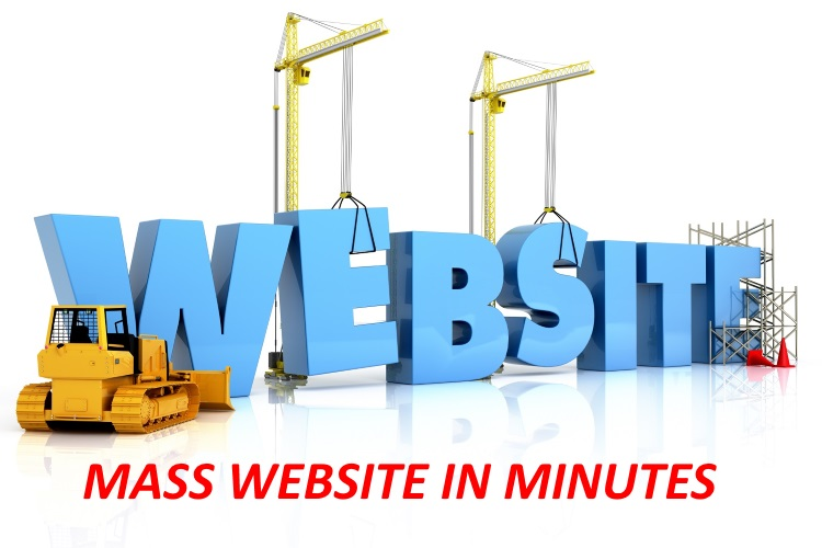 Create A Mass Website For Any Niche 2019 Method 50 Pages Website