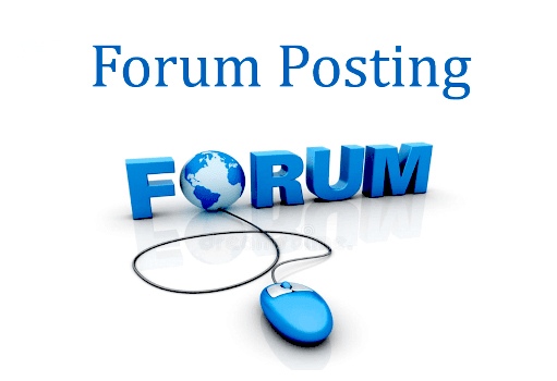 do 30 high quality forum posting