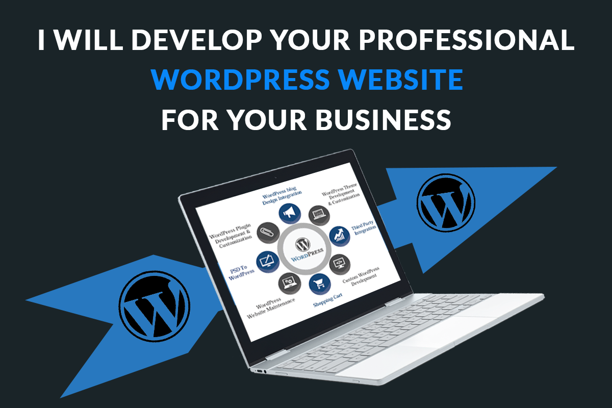 Design and develop full wordpress website