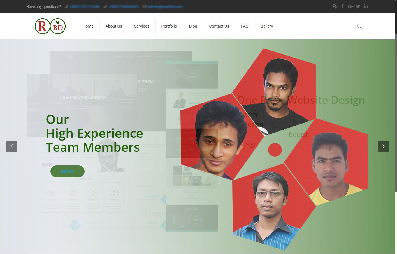 Design and develop full wordpress website