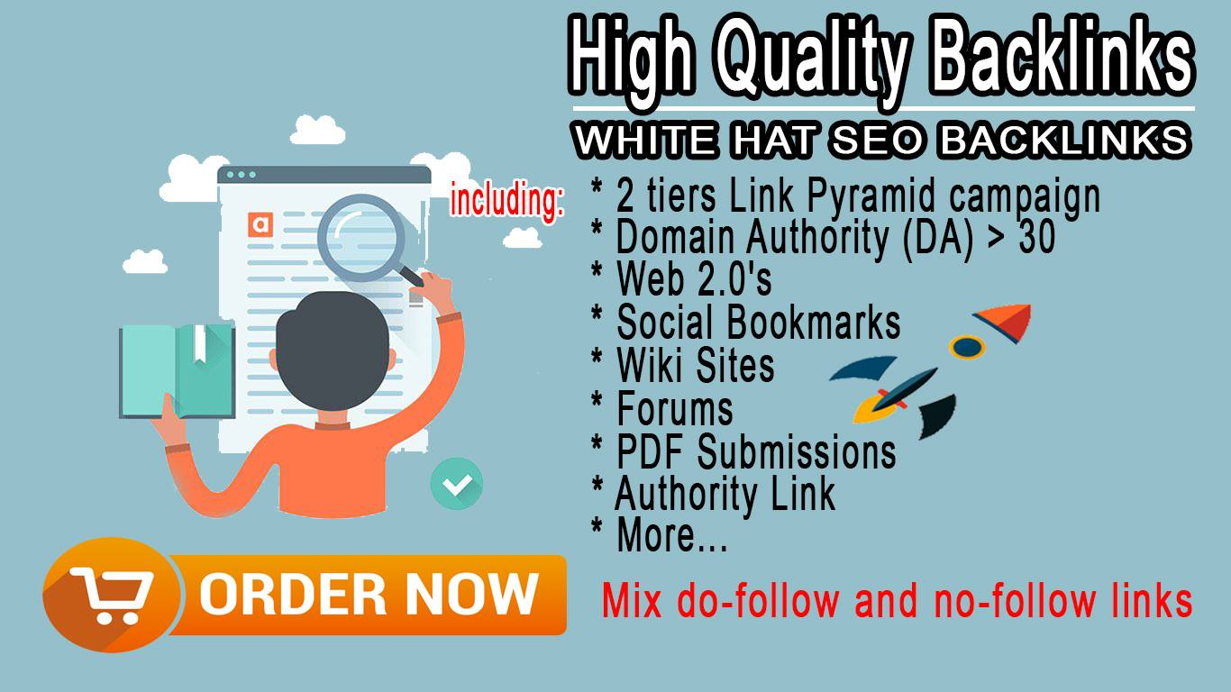 Create a complete link to your website with high quality backlinks!