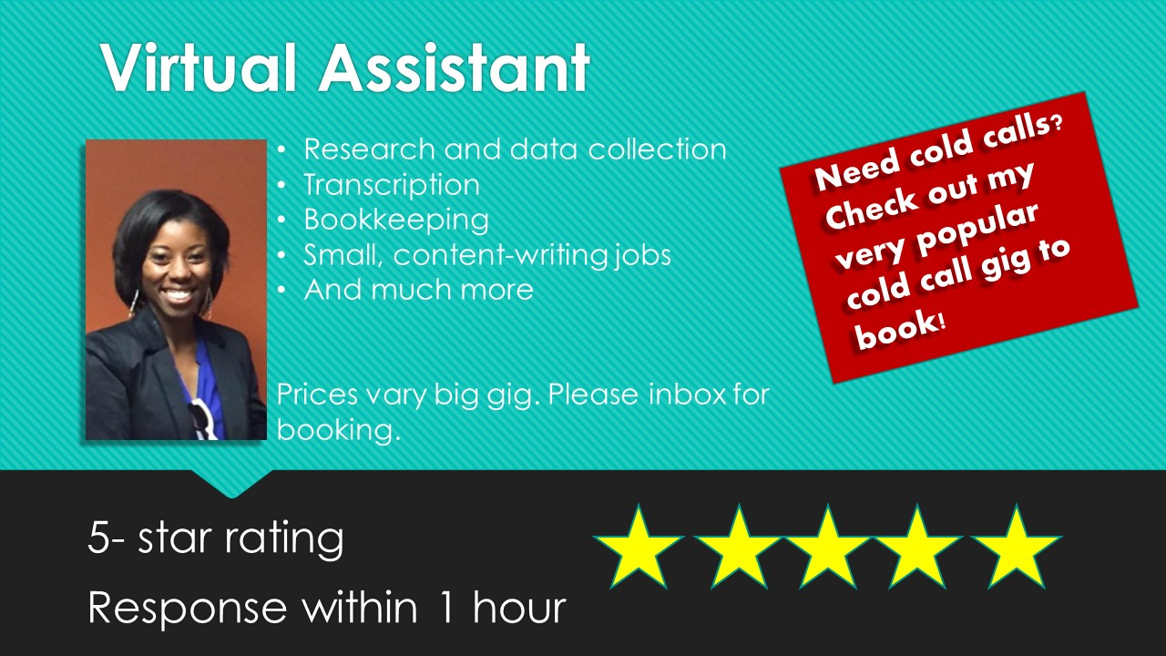 be your virtual assistant for any task
