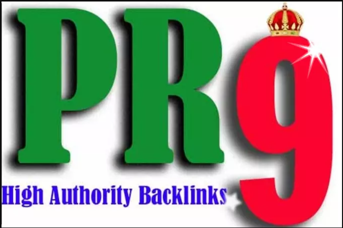 PR-9 High Authority(20) permanent Seo backlinks