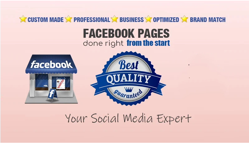 Design Create And Optimize Facebook Business Page, Fanpage