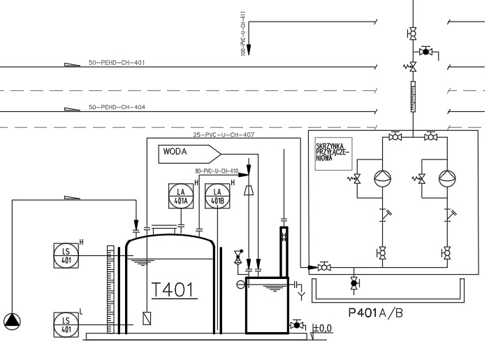 Draw A P U0026 Id Piping And Instrumentation Diagram    Drawing For  4