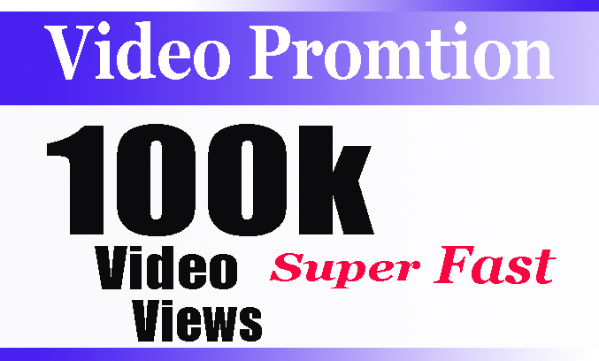SUPER INSTANT 100K+ HQ WorldWide VIEWS FOR SOCIAL MEDIA Video