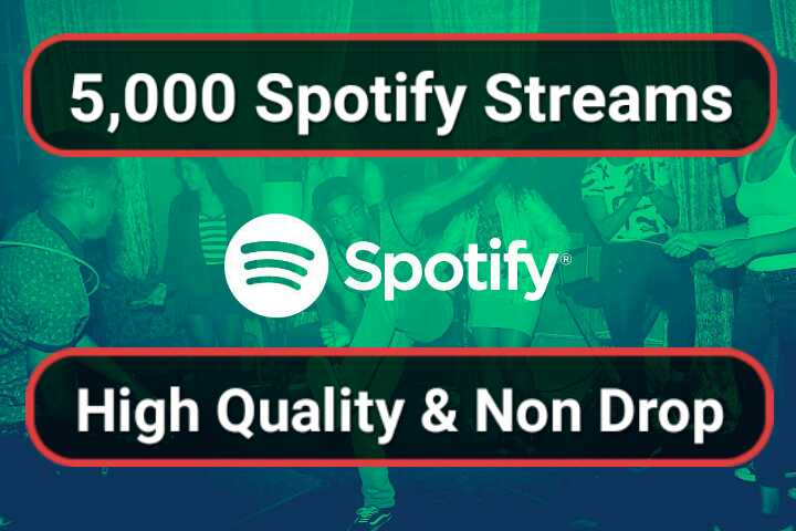Five Thousand Royalties Eligible USA Streams