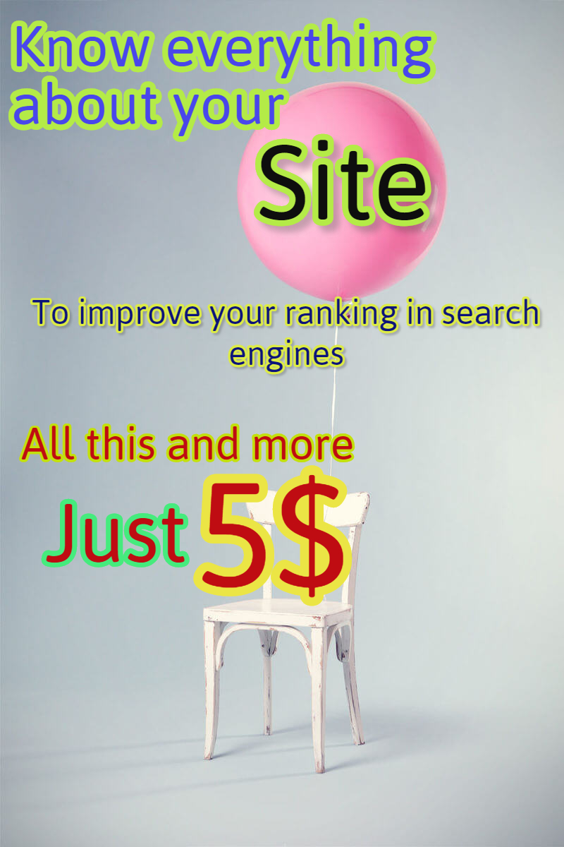 Detailed analysis of your site to generate search engines (full report)
