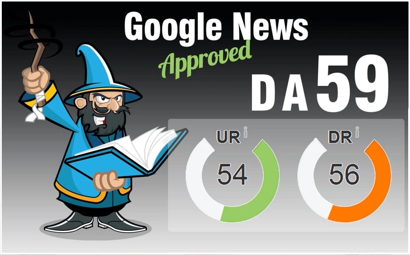 Guest Post On My Google News Approved DA 59 News Blog...
