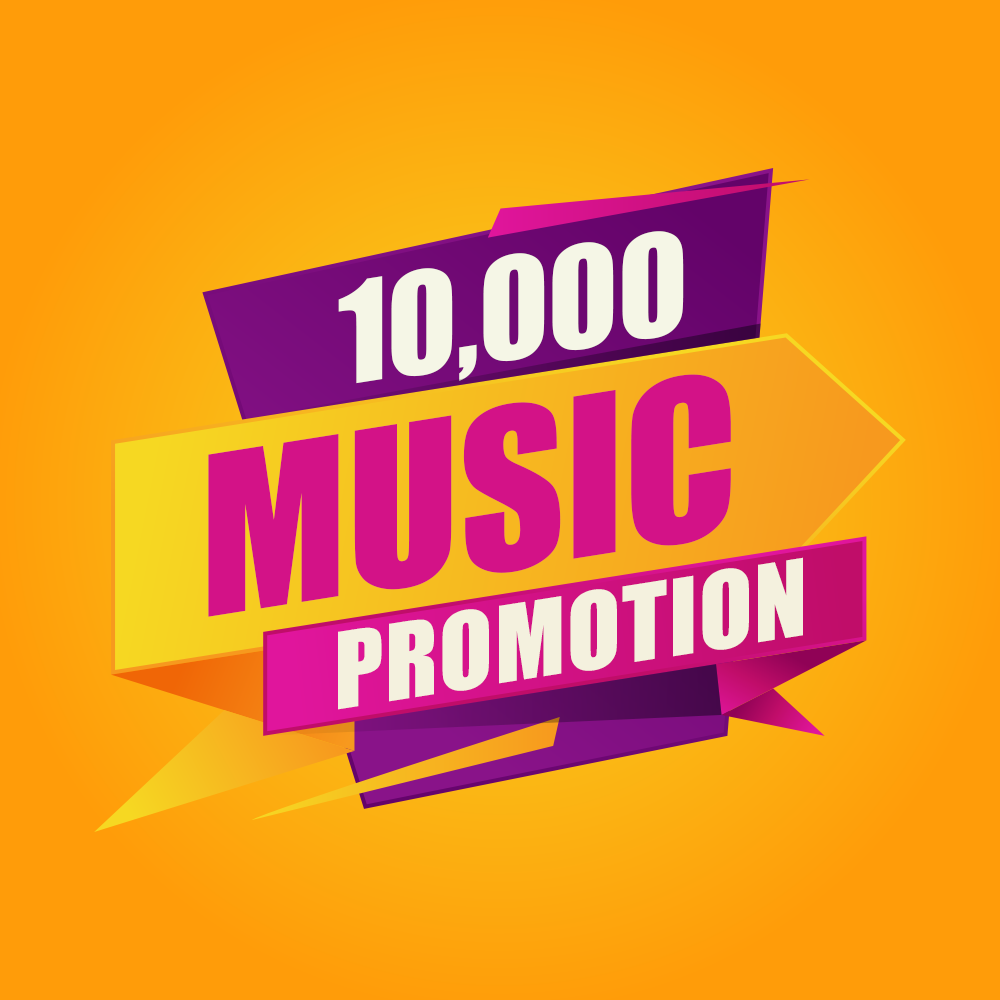 Ten Thousand Organic Music Promotion For Your Song Marketing for $17