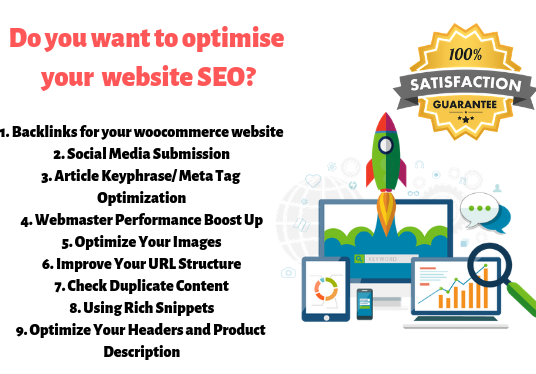 I can do wordpress yoast SEO optimization with free backlinks
