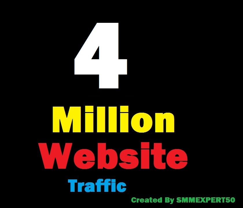 4 Million Worldwide site Traffic Visitors For Online ...