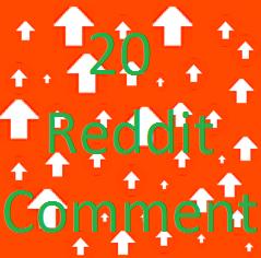 Manually get 20 reddit promotion