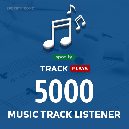 Promote 5000 Track Listeners to Boost Stream - Music Engagement