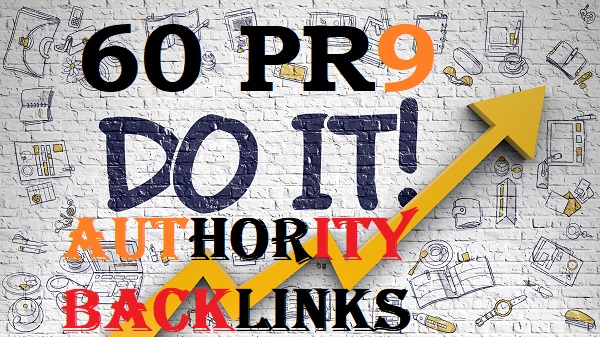 60 Pr9 Authority Backlinks for better ranking for your sites