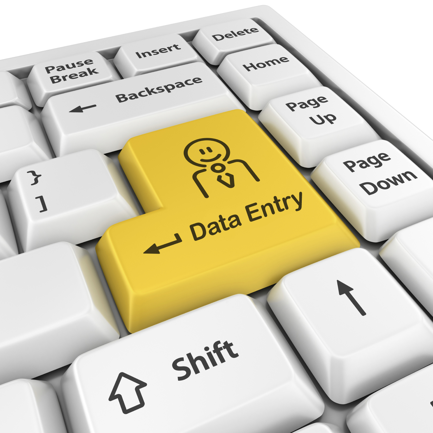 data entry of every types for you at negotiable price.